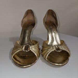 Gold heel from Aldo, size 9